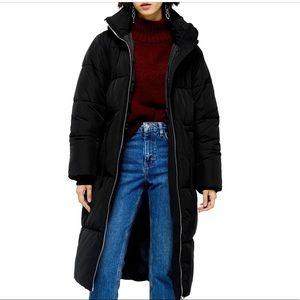 Topshop Long Puffer Jacket